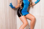 Free porn pics of August Ames Hottie in Latex Dress in Flesh Hunters 1 of 90 pics