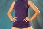Free porn pics of Cameron Cruz Purple Lingerie 1 of 44 pics
