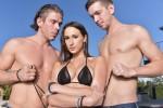 Free porn pics of Ashley Adams - My First DP! 1 of 172 pics