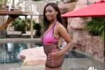 Free porn pics of Daya Knight Tropical Heat 1 of 43 pics