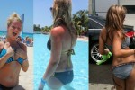 Free porn pics of Sarah Kantorova Stripper Bikini Vs Bikini 1 of 15 pics