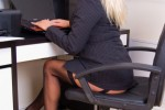 Free porn pics of Busty Beauties - MICHELLE - Horny Secretary 1 of 80 pics