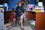 Free porn pics of Samantha - Ginger the Librarian 1 of 93 pics