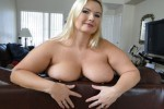 Free porn pics of Blond BBW Milf -On the Couch 1 of 94 pics