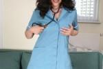 Free porn pics of Hot mature nurse sticks a dildo up her perfect arsehole 1 of 98 pics