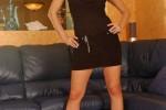 Free porn pics of Caroline Cage - Black Tank Top & Skirt 1 of 114 pics