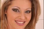 Free porn pics of Caroline CageActionBlue Fishnet Tank Top 1 of 130 pics