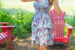 Free porn pics of Tessa Fowler - Flower Dress 1 of 186 pics