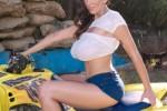 Free porn pics of Alia Janine - Miss Wet T Shirt ...every fucking year. 1 of 39 pics
