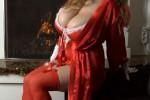 Free porn pics of Samanta Christmas 1 of 9 pics